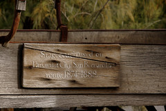 2017_03_10 Furnace Creek, CA._12PSETZ (Walt Barnes) Tags: furnacecreek deathvalley weathered calif coach stagecoach wagon canon eos 60d eos60d canoneos60d wdbones99 topazsoftware pse15