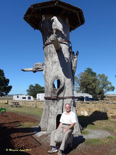 Paul at Oatlands, Tasmania,
