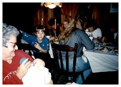 11/25/93 - Grandma's House: (mavra_chang) Tags: scanned momsphotograph family thanksgiving thanksgiving1993