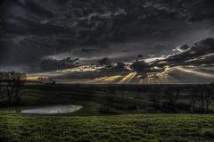 After the Storm, Sunset (Klaus Ficker --Landscape and Nature Photographer--) Tags: storm clouds rays rain sunset evening sturm wolken regen sonnenuntergang abend usa kentucky frankfort kentuckyphotography klausficker canon eos5dmarkiv