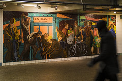 The Underground (Joyce and Steve) Tags: art broadwaytheaterdistrict manhattan newyork newyorkcity places publicart subwaymurals usstates broadway timessquare