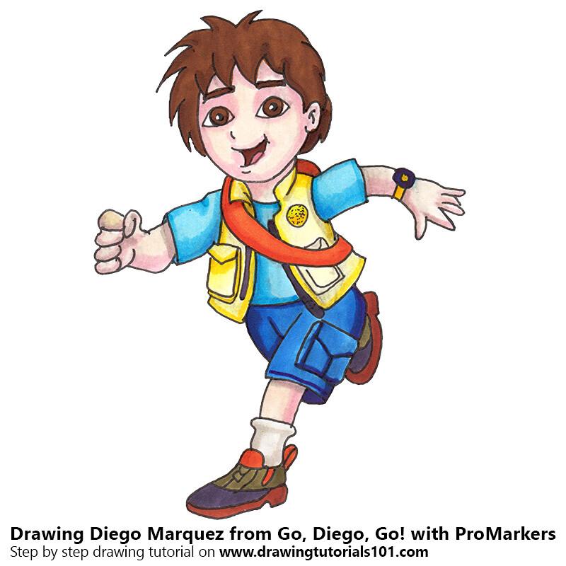 Cartoons Go Diego Go: The World's Best Photos Of Cartoons And Color