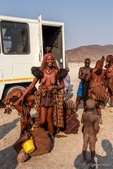 Packing Up 8858 (Ursula in Aus) Tags: africa himba himbavillage namibia otjomazeva