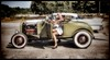 She drove the Hot Rod... (iEagle2) Tags: hotrod legs woman female femme ep2 olympusep2 olympuspen