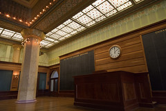 Chicago Stock Exchange Trading Room (Christian Collins) Tags: chicago art inttiture board trade stockexchange interior building inside sullivan rubloff canoneos5dmarkiv