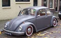 Volkswagen Beetle 1967 (XBXG) Tags: ah6415 volkswagen beetle 1967 volkswagenbeetle kever käfer coccinelle cox rat look ratlook rats haarlem nederland holland netherlands paysbas vintage old classic german car auto automobile voiture ancienne allemande deutsch deutschland germany vehicle outdoor