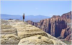 Solitude (Runemaker) Tags: karl solitude snowcanyon statepark utah sandstone cliffs slickrock redrock mountains hiking mohave mojave desert wilderness