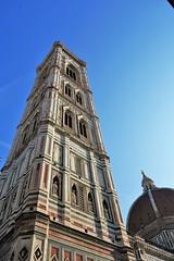 Florence Cathedral Tower (Kan-chane Gunawardena) Tags: florence duomo cupola cattedraledisantamariadelfiore cathedral florencecathedral