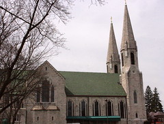 St. Mary of the Angels Exterior (Jay Costello) Tags: stmaryoftheangelsbasilica stmary romancatholic church worship god religion olean ny newyork steeple exterior tower green