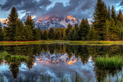 Schwabacher Landing - Reflections (jodell628) Tags: john odell tetons johnodelljr grand teton national park schwabacher landing reflection