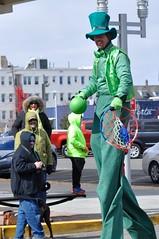(lcross4) Tags: asbury park st patricks parade 2017 stilts