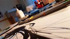 #inking #illustration #illustrations #art #artwork #atwork #friday #night #working #drawing #paper #studio (agusisonline) Tags: illustration drawing working atwork friday art studio night inking paper illustrations artwork