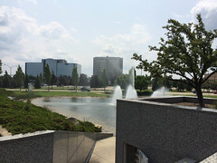 Fountain at the Troy Loan Center (Birame) Tags: fountains troy michigan unitedstates us