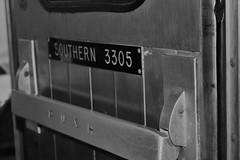 IMG_6676 (joyannmadd) Tags: galvestonrailroadmuseum texas trains railroad tracks traindpot museum historic cars engines memorobilia old sculptures silver diningcar menu plates wheels