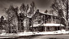 The Walloomsac Inn (Professor Bop) Tags: professorbop drjazz olympusem1 walloomsacinn northbenningtonvermont vt rural decay building structure hotel house hauntedhouse