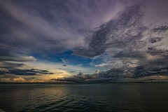View from Stokes Hill Wharf (betadecay2000) Tags: stokeshillwharf stokes hill wharf 2017 wetseason season wet darwin northernterritory northern territory wasser water cloud clouds wolken wolke storm gewitter wetter meer see sea weather weer meteo himmel sky heaven topend top end