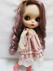 Babette in her new mori style dress 1of5