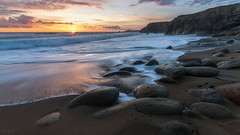 Port Bara (Tony N.) Tags: bretagne quiberon morbihan portbara beach plage sunset coucherdesoleil couchant rocks rochers sea mer seascape d300s vanguard sigma1020 tonyn tonynunkovics