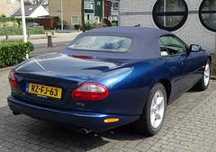 Jaguar XK 8 convertible 1997 nr3536 (Ardy van Driel) Tags: rzfj63 softtop