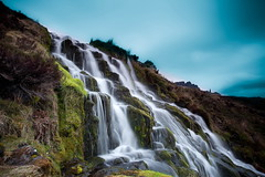 The Colourful Falls (PeterYoung1.) Tags: atmospheric beautiful colours falls green landscape longexposure nature rocks scenic scotland scottish skye isleofskye storrfalls uk peteryoung1 water waterfall
