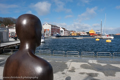 Gormley statue (www.chriskench.photography) Tags: norway xt2 travel scandinavia nordic kenchie europe fujifilm wwwchriskenchphotography stavanger rogaland no art statue gormley