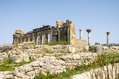 DSC_9517A Volubilis ancient Roman city in North Africa, Morocco (camera30f) Tags: morocco berbers people day history islam life lifestyle