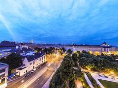 Wien (smüh) Tags: wien skybar rooftop nachtaufnahme city stadt langzeitbelichtung gopro nightlife