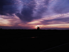 Sunset (Manue NA) Tags: nikon coolpix l100 travel trip backpacker route 7 ruta sunset sky