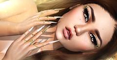 Izabell (meriluu17) Tags: slackgirl sg astralia alme arte skinnery closeup nails foxcity babydoll doll doly royal gold catwa beauty people