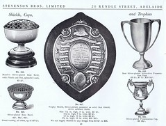 Shields, Cups and Trophies (Runabout63) Tags: shield cup trophy stevenson adelaide