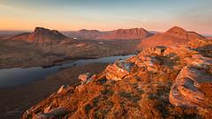 Sunset on Sgorr Tuath (JamesPicture) Tags: assynt coigach inverpolly landscapephotography scotland sgorrtuath stacpollaidh unitedkingdom gb