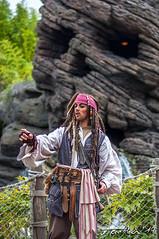 Jack Sparrow en Disneyland Paris (Xtarlight) Tags: disneylandparis dlpr disneyland disney fototoni jacksparrow piratesofthecaribbean piratasdelcaribe pirate skull skullrock calavera