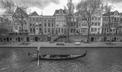 A little bit of Venice (JoCo Knoop) Tags: utrecht oudegracht gondolier