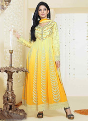 Semi Stitched Yellow Georgette And Silk Anarkali Suit (nikvikonline) Tags: yellow salwarkameez stylish suit shalwar salwar stylishsuits salwarsuit yellowsuit designersuit salwaronline salwarsale saleonline designerwear designercollection designer desinger dailywear designersuits designersalwar