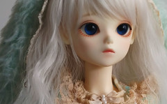 Looking lost (o_lillet_o) Tags: bluefairy olive bjd msd morigirl tinyfairy tf enchanted ed eyes 16mm dolk white doll