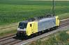 E189.989 NC (Massimo Minervini) Tags: e189 e189989 nc nordcargo db dbschenkerrail lis locomotoreisolato pontenure canon400d siemens lineamilanobologna