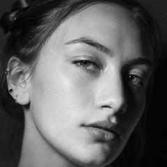 (Jay DeFehr) Tags: rose portrait closeup square blackandwhite canon20d cropped