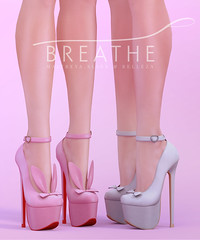 [BREATHE]-Bunny Heels ([Breathe]) Tags: breathe secondlife mesh bunny easter playgirl
