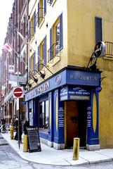 Irish Pub on Side Street (Bill Smith1) Tags: agfavista400 believeinfilm billsmithsphotography heyfsc nikkoro35f2lens nikkormatel toronto