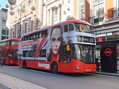 Arriva London - LT500 - LTZ1500 - Rimmel (Waterford_Man) Tags: arrivalondon hybrid wrightbus nrm rimmel lt500 ltz1500