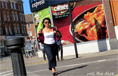 `1942 (roll the dice) Tags: london westhampstead nw6 camden hot sunny weather fresh boobs pretty sexy topless girl tesco advertising poster people natural portrait stranger candid fashion shops shopping streetphotography bollards uk classic art england urban unaware unknown run fit windows traffic canon tourism muslim choice dish open funny surreal sad mad londonist easy express jog feet sunglasses