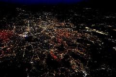 Paris, yesterday night (sakarip) Tags: sakarip paris france evening night lights champselysees fromthesky over10000m 10kmhigh citylights fragile