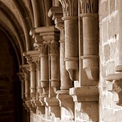 - mittelalterliche Baukunst - (HORB-52) Tags: klostermaulbronn badenwürttemberg kloster berndsontheimer sakralbauten säule