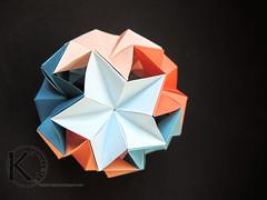 stars again (Kalami) Tags: origami modular kusudama stars kalami