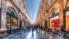 Perspective HDR (YᗩSᗰIᘉᗴ HᗴᘉS +5 000 000 thx❀) Tags: perspective canon bruxelles brussels galeriedelareine hdr photomatix hensyasmine belgium belgique city loisir shopping