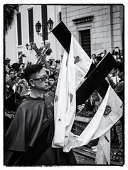 Carrying the Cross (Feldore) Tags: macau good friday procession hongkong carrying cross easter ritual ceremony priest street feldore mchugh em1 olympus 1240mm