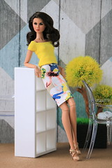Colette D. Checking In (grsve) Tags: doll fashionroyalty integritytoys convention nuface colettedcheckingin