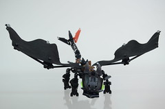 Toothless the Night Fury (Dödke) Tags: lego bionicle toothless how train your dragon