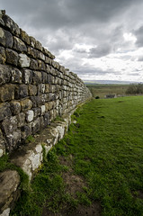 Housteads roman fort west wall (Latitude53 Photography) Tags: hadrianswall romanbritain brittania northumberland wall history ancient