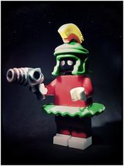 Marvin (LegoKlyph) Tags: lego custom marvin martian cartoon warner brothers loonytoons silly classic retro mars bricks minifigure